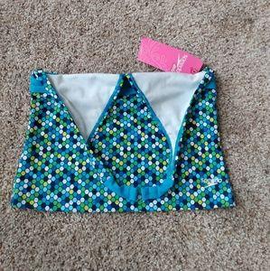 Speedo Girls Halter Top Tankini Swimwear